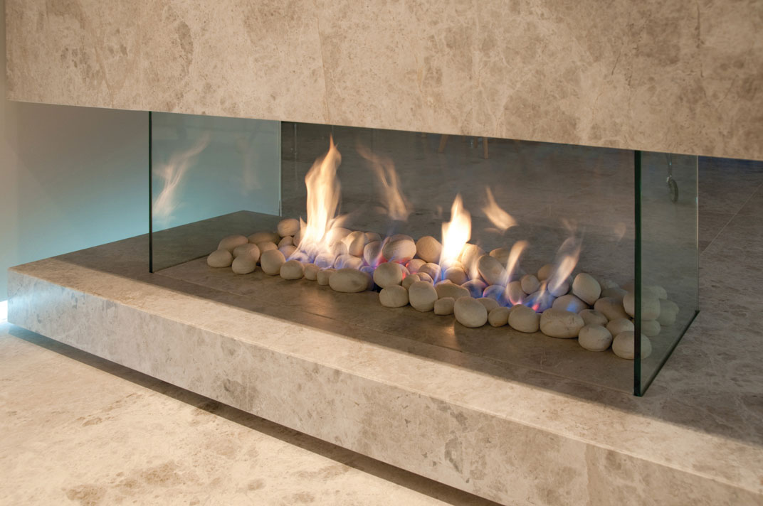 Pure Vision Gas Fireplace Real Flame Gas Fires Melbourne