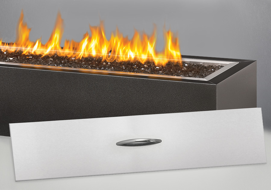 Napoleon Linear Patioflame Real Flame Gas Fires Melbourne