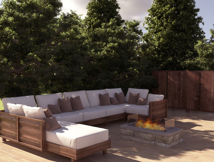 Real Flame Outdoor Gas Fire Real Flame Gas Fires Melbourne